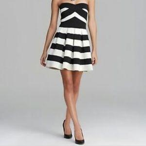 Strapless dress BCBGMaxAzria